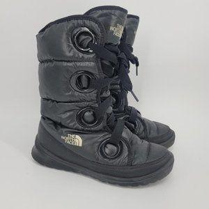 The North Face Black Destiny Down Boot Sz 7